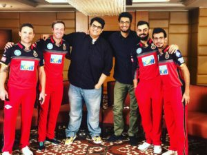AIB Tanmay Bhat with Virat Kohali & other cricket Players