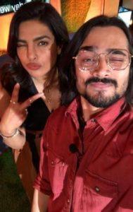 Bhuvan Bam with Priyanka Chopra