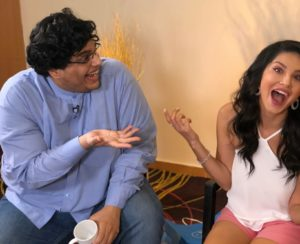 AIB Tanmay Bhat with Sunny Leone