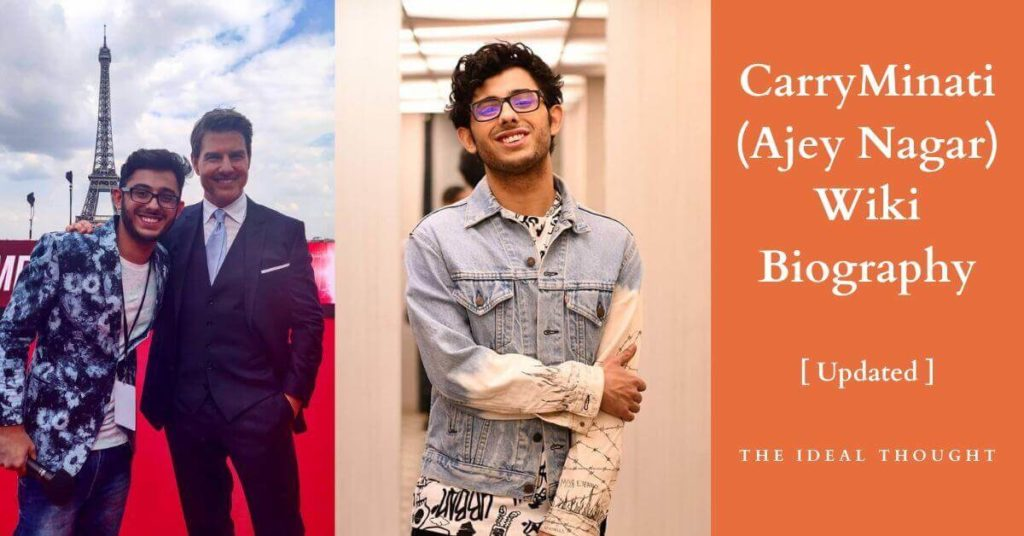 CarryMinati Wiki (Ajey Nagar Biography): Facts | 2021;