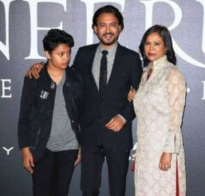 Irrfan Khan Wiki Family wife son
