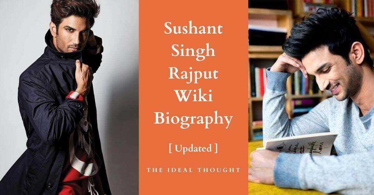 Sushant Singh Rajput Wiki Biography : 15+ Top Amazing Facts
