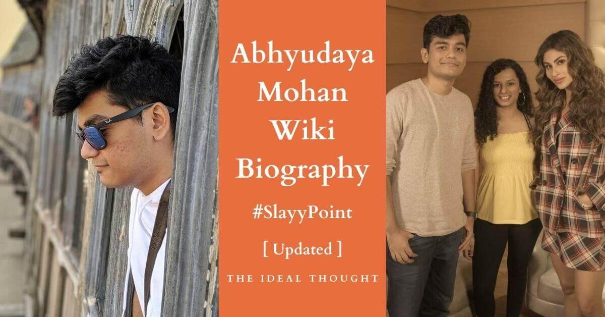 Abhyudaya Mohan Wiki Biography