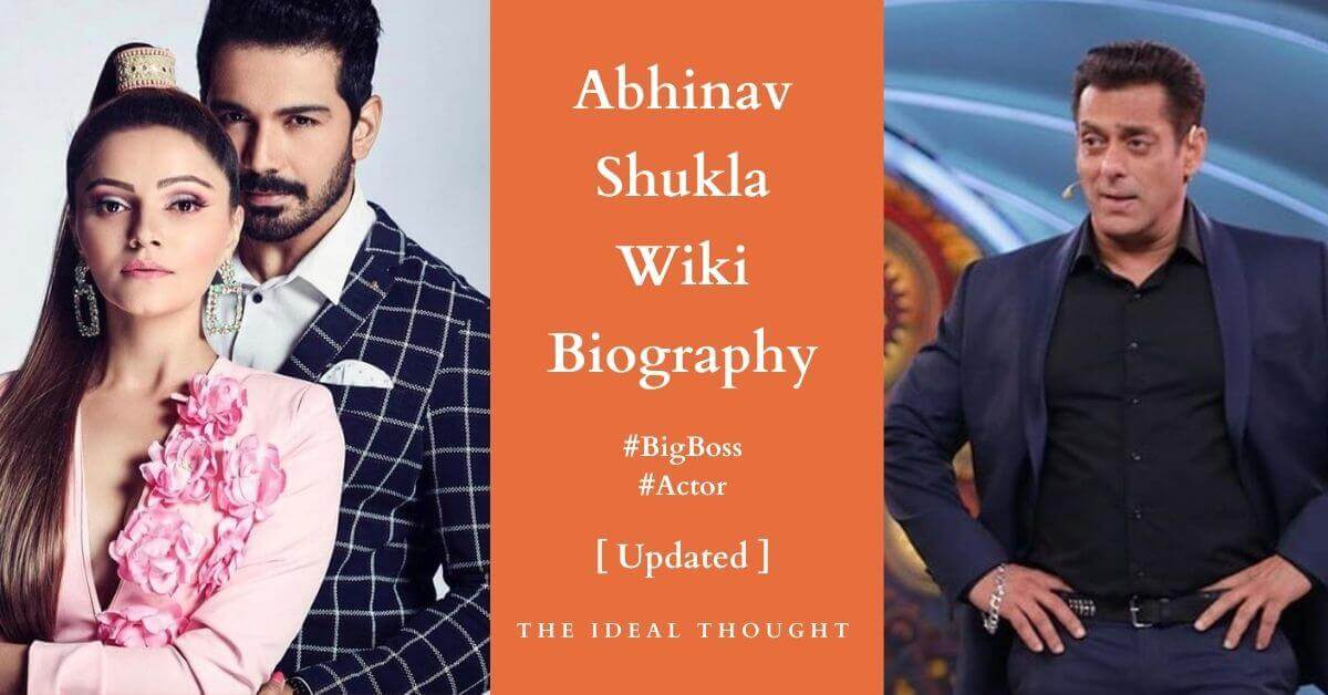 Abhinav Shukla Wiki Biography