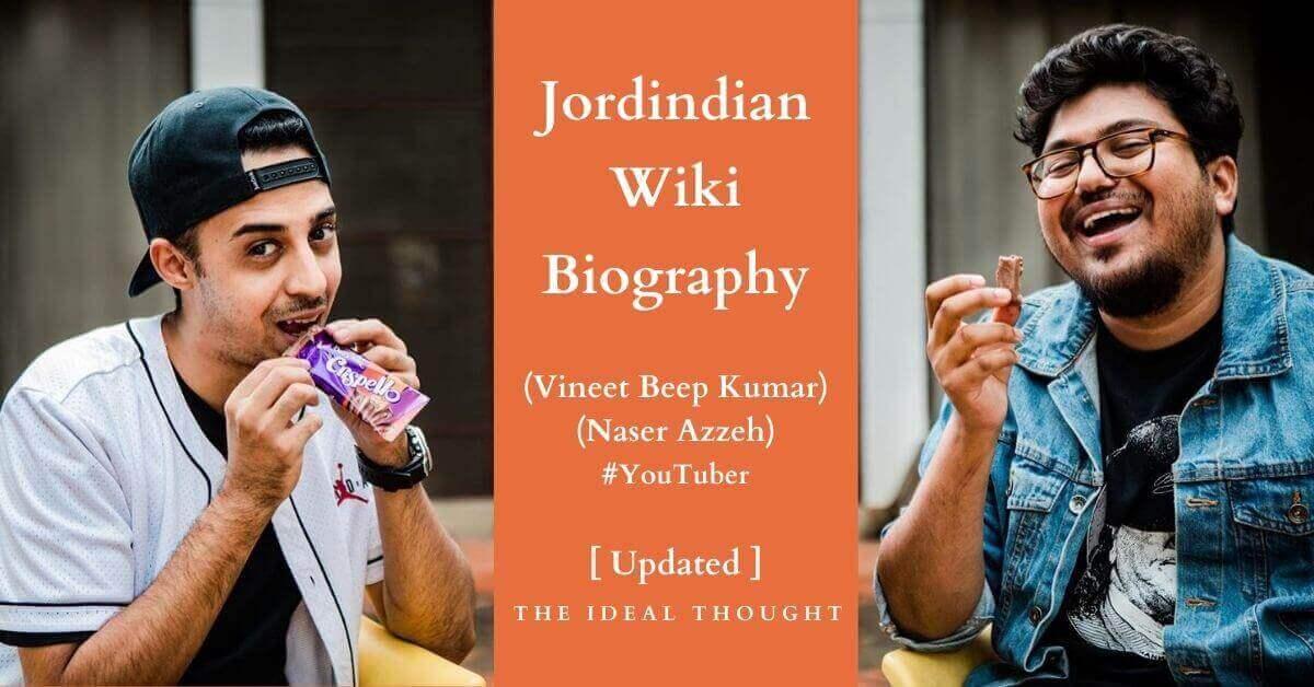 Jordindian Wiki Biography Youtuber