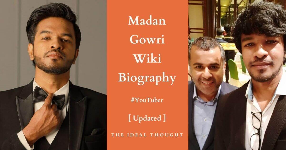 Madan Gowri Wiki Biography