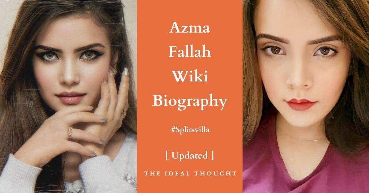 Azma Fallah Wiki Biography Splitsvilla