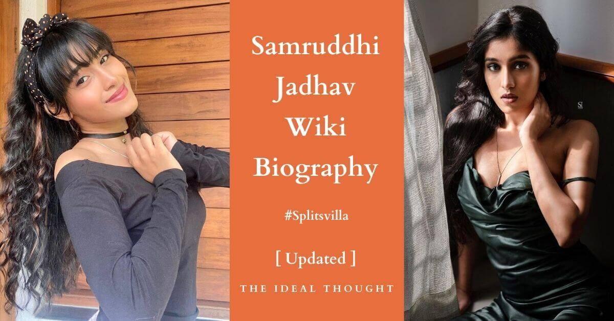 Samruddhi Jadhav Wiki Biography Splitsvilla