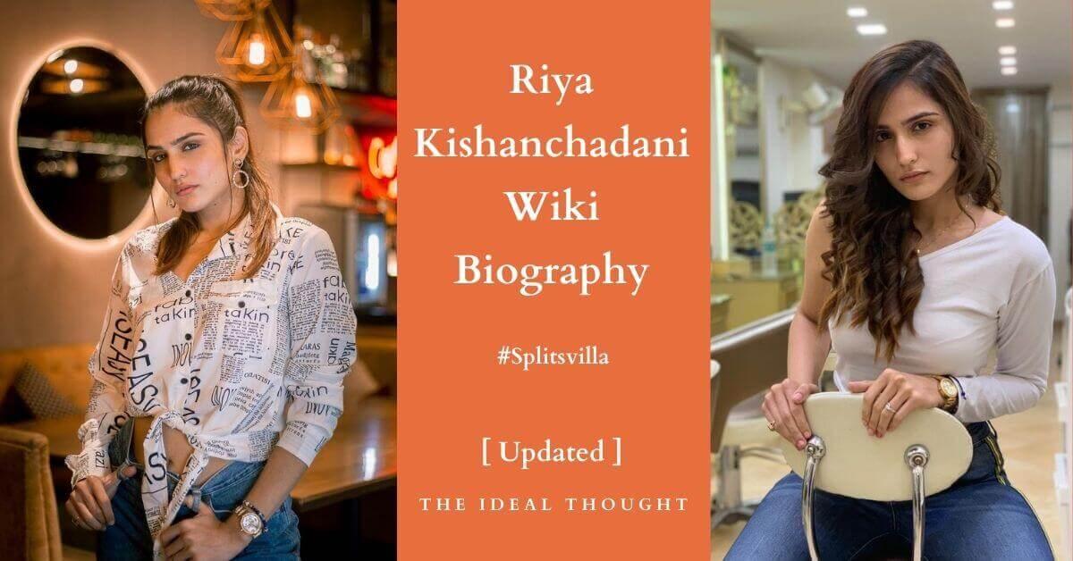 Riya Kishanchandani Wiki Biography Splitsvilla