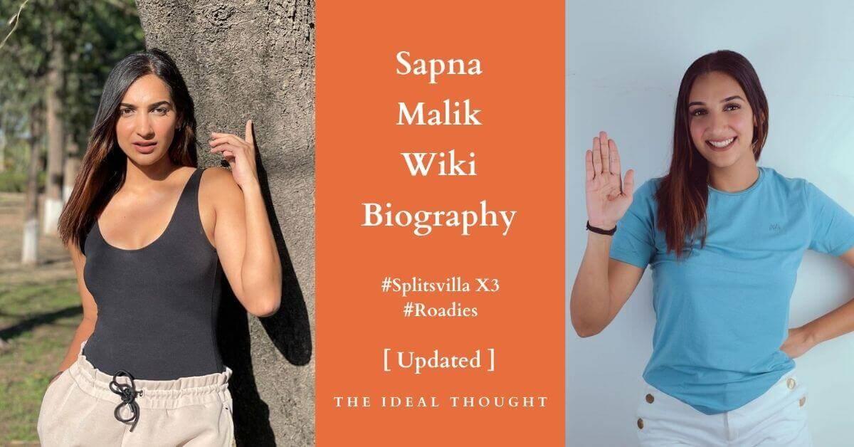 Sapna Malik Wiki Biography Splitsvilla