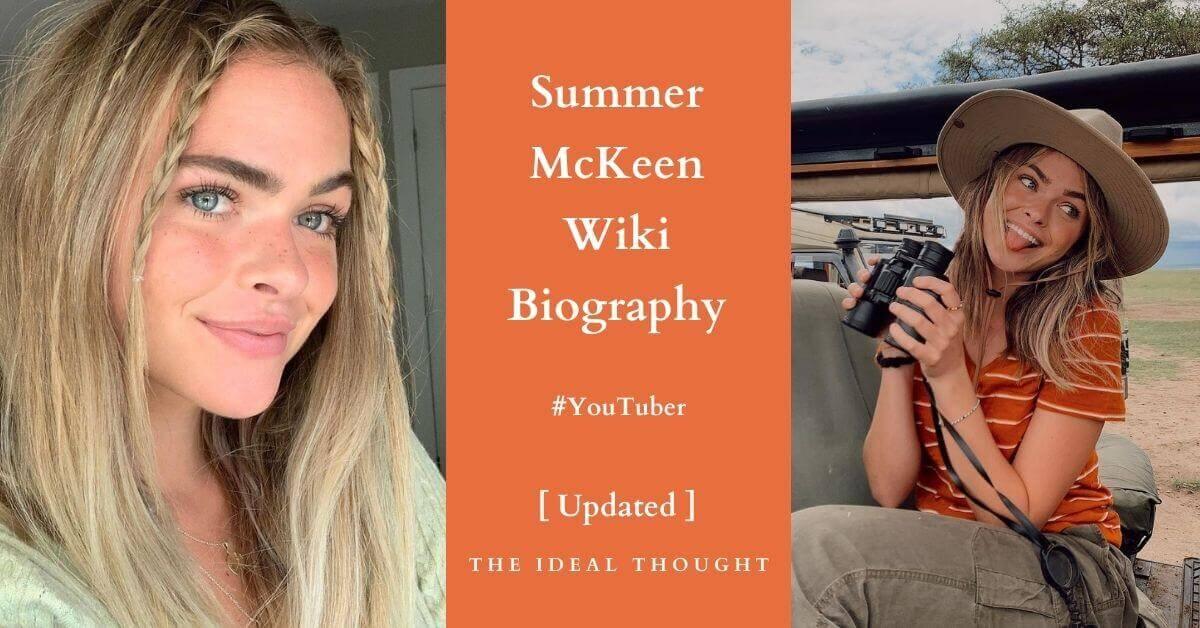 Summer McKeen Wiki Biography YouTuber