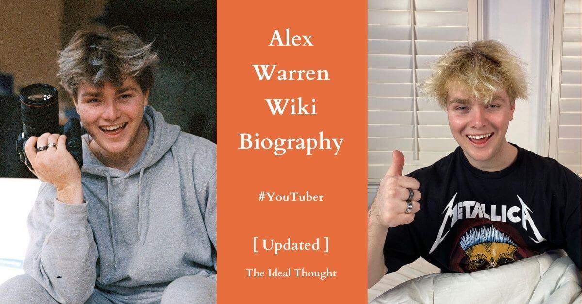 Alex Warren Wiki Biography YouTuber